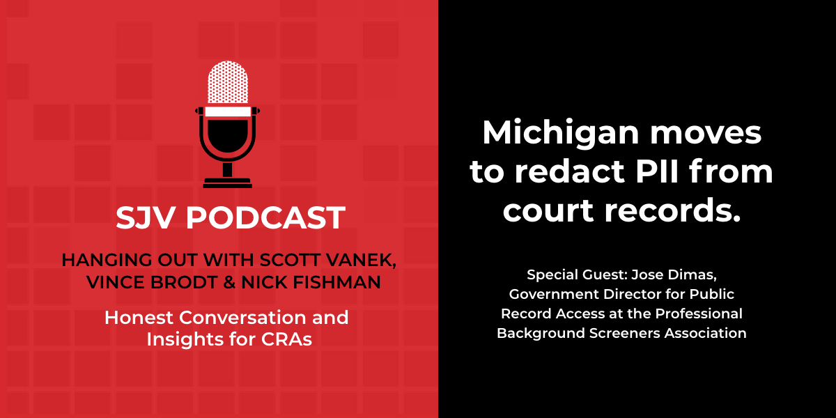[Podcast] Michigan moves to redact PII from court records