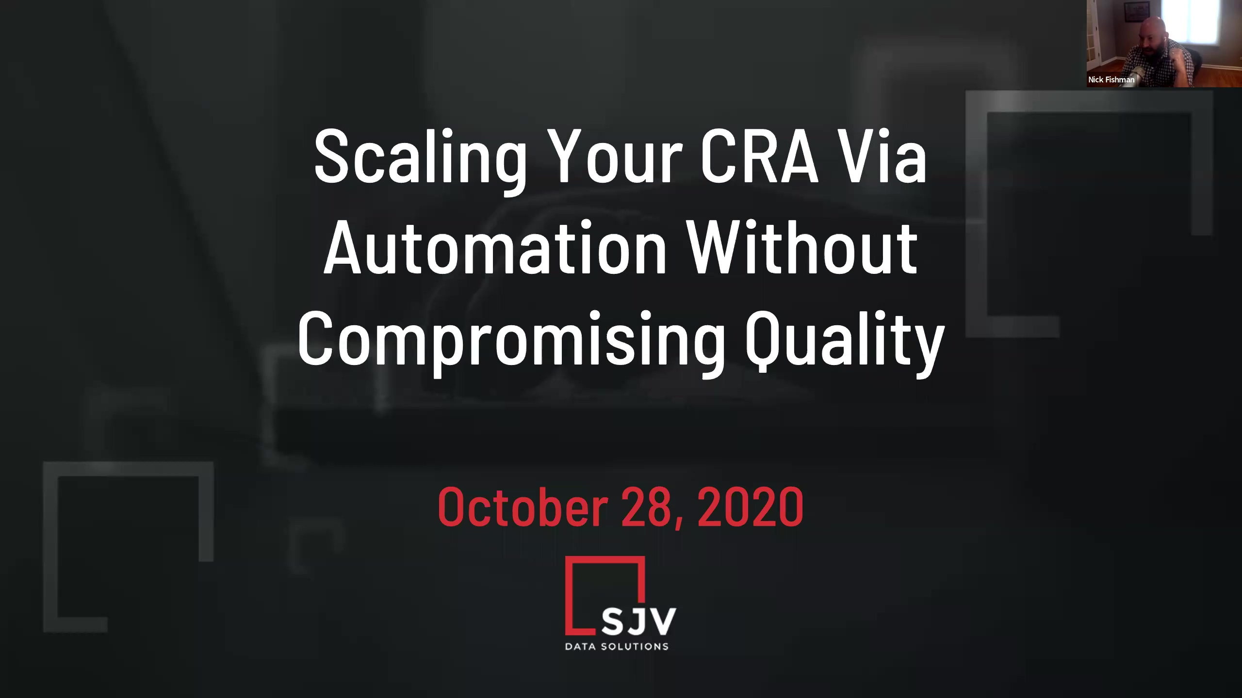 Scaling Your CRA via Automation Without Sacrificing Quality