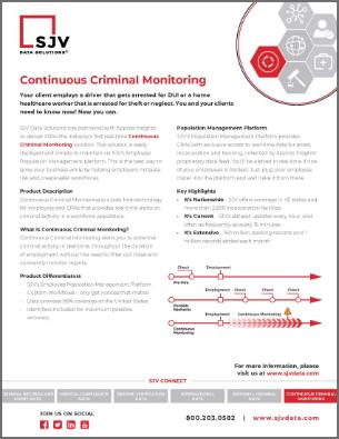 Continous-monitoring